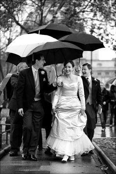 Elizabeth arriving at St. Margaret's, Westminster, in the rain! November 2012.