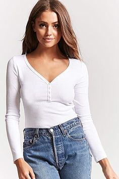 WHITE BLOUSE | Forever 21