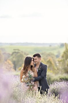 #lavender Photography by lifeinstillphotography.net.au  Read more - http://www.stylemepretty.com/2012/11/30/south-australia-engagement-session-from-life-in-still-photography/