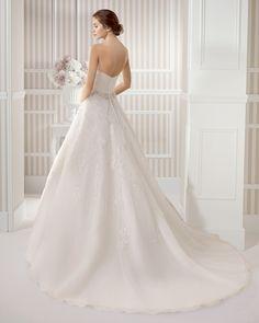 7S160 ESPIRAL - Vestido de Novia - Luna Novias