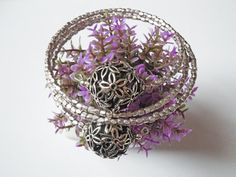 Braccialetto metallo artigianale
