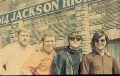 The Swampers Barry Beckett, Jimmy Johnson, David Hood, Roger Hawkins
