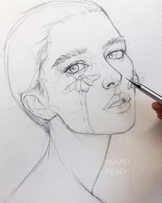 Best Inspiration Art Drawing – Modern Home Cool Art Drawings, Pencil Art Drawings, Realistic Drawings, Art Drawings Sketches, Cool Drawings Tumblr, Pencil Drawing Tutorials, Portrait Sketches, Painting Tutorials, Art Inspiration Drawing