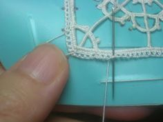 Dentelles d'abord: merletto geometrico
