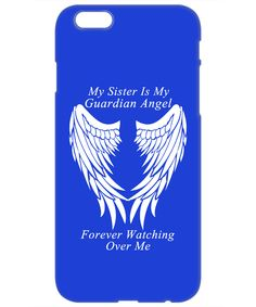 Sister Guardian Angel Phone Case
