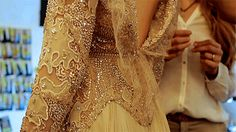 Elie Saab fall 2012 couture backstage