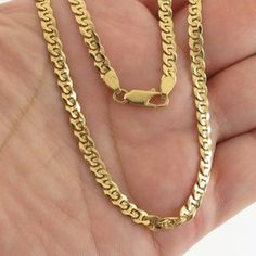 18 inches 2 mm 22kt Solid Gold Chain Necklace For men women   Etsy Thin Gold Chain, Gold Chains, Silver Chain Necklace, Men Necklace, Gold Style, Photo Jewelry, Handmade Silver, Women's Earrings, Solid Gold