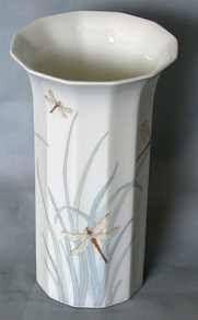 "Studio Linie Polygon form # 6000 ""Milos"" decoration # 506620 by Kathy Still 16 cm Vase, Studio, Decoration, Design, Home Decor, Simple Lines, Decor, Decoration Home, Room Decor"