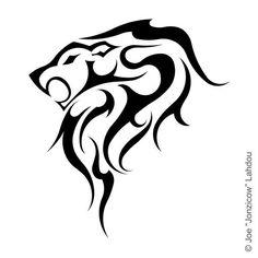 Tribal_Leo_Tattoo_by_JONZICOW.jpg (600×600)