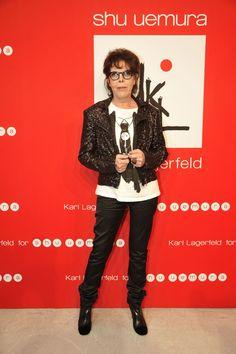 KARL LAGERFELD FOR SHU UEMURA'S LAUNCH - Karl Lagerfeld