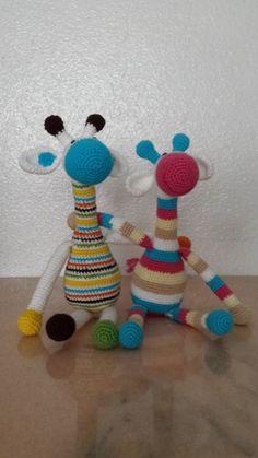 Phatufa, Amigurumi, Girafa, Amigurumi, Crochê, Crochet, Croche,Giraffe