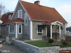 Decor Ideas, Farmhouse Exterior Colors, Red Farmhouse Exterior, Design ...