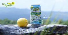 気持ちのいい空と風とともに、楽しみませんか?淡麗グリーンラベル 風そよぐレモンピール 4/4期間限定発売。お酒は20歳になってから。