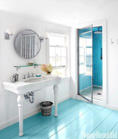 Paint It Bright Blue! Home Decor Ideas for Coastal Living…