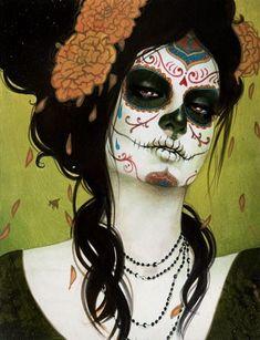 makeup & marigolds