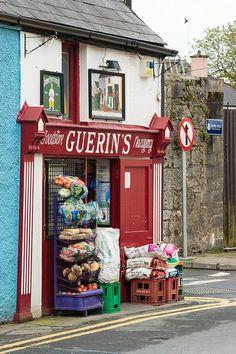 Grocer in Ennis, Ireland