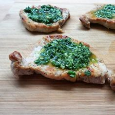#schab z grilla z pietruszkowym #pesto ⭐ #porkchops with #homemade #parsley #pesto from #grill ⭐ #foodphotography  #foodstagram #foodporn #foodpics #instafood #instagood #masterchef #yum #yummy #pycha #pyszne #delicious