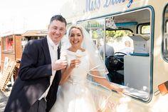 Ice cream van for wedding