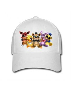 White five nights at freddy Hot vente Casquettes de baseball