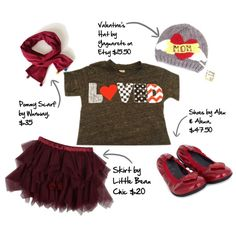 Lil Threadz children's Valentine's outfit