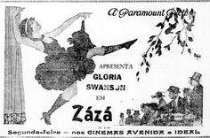 1923 - ZAZA - Allan Dwan - (JORNAL DO BRAZIL, Saturday, July 5, 1924, Rio de Janeiro, Brazil)