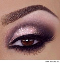 Beautiful pink eye makeup See eye makeup and learn how