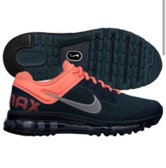 Nike Women's air max  pink and black