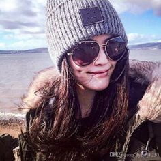 7483525648f 2016 New Wool Hat Korean Lady Autumn Winter Female Smiling Face Cloth Knitted  Hat Outdoor Warm Hat Straw Hat Baseball Cap From Lynn 1230