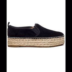 Sam Edelman Espadrilles, Black Espadrilles, Black Suede, Flats, Products, Fashion, Loafers & Slip Ons, Moda, Fashion Styles
