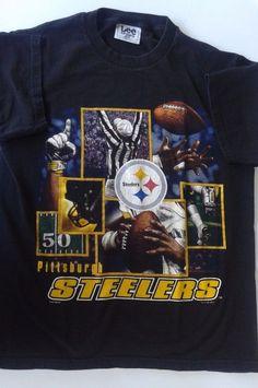 Mens/Womens Pittsburgh Steelers Football largeI Men's Black T-Shirt #PittsburghSteelers