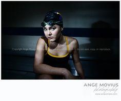 Senior session high school senior girl portrait swimmer swim team www.amportraits.com