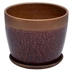 Trendspot ceramic pottery is hand crafted of durable ceramic clay and artisan glazes in trend-right colors and designs. The 6 in. Dia ceramic Geode planter features a versatile shape, popular pattern Ceramic Planters, Ceramic Clay, Ceramic Pottery, Planter Pots, Rustic Ceramics, White Ceramics, Square Planters, Jade Plants, Container Size