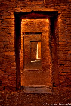 Photo Card, Door Ways at Chaco Canyon, New Mexico, Nature Photography, Spiritual Journey, Portal, Mystical, Sacred Space, Passage by SoulCenteredPhotoart on Etsy https://www.etsy.com/listing/118003317/photo-card-door-ways-at-chaco-canyon-new