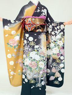 Japanese Kimono KagaYuzen