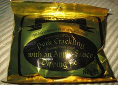 FOODSTUFF FINDS: Ray Gray Pork Crackling with Apple Sauce (Asda ...