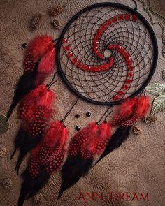 Black & Red #dream #dreamcatcher #dreamcatchers #handmade #ann_dream #ловецснов #петропавловск #люблючудить #сны