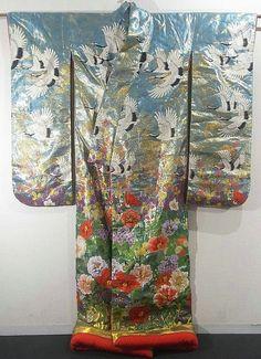 Uchikake #293318 Kimono Flea Market Ichiroya