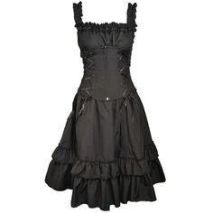 Poizen Industries Soul Dress Ladies Goth Emo Punk Girls Black Alternative Women in Clothes, Shoes & Accessories, Women's Clothing, Dresses | eBay!
