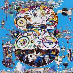 Modern Pop art by Takashi Murakami|Takashi Murakami, artists, modern art, artistic sculptures, anime and manga cartoon, Superflat style, pop art|for more inspirations or amazing pictures check: http://www.bocadolobo.com/en/inspiration-and-ideas/