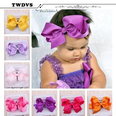 TWDVS Girls Big Bow Infant Baby Flower Headband  Hair Elastic Bow Headbands Hair band kids Children Accessories W--017 #>=#>=#>=#>=#> Click on the pin to check out discount price, color, size, shipping, etc. Save and like it!