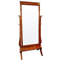 19th Century Dutch Antique Mirror