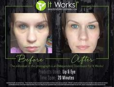 "Because bags 👜 should go over your shoulder, not under your eyes! 👀👀👀👀  Tke the 90 day challenge & get your Lip & Eye for only $29!!!  Text ""bags"" to 678.373.9389   #lipandeye #ItWorksLipandEye"