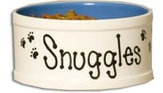 Small Personalized Pet Bowl