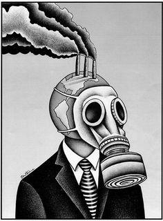 "Ben Heine, ""Global Warming"" Source by kubrankara Global Warming Drawing, Global Warming Poster, Earth Drawings, Earth Poster, Masks Art, Environmental Art, Deviantart, Climate Change, Pop Art"