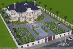Sims 4 House Design, Village House Design, House Front Design, Cool House Designs, Luxury Homes Exterior, Dream House Exterior, House Layout Plans, House Layouts, Classic House Design