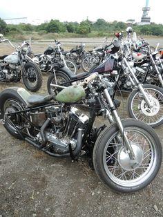 Ironhead | Bobber Inspiration - Bobbers and Custom Motorcycles | taku420 November 2014