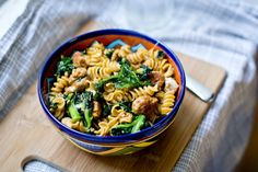 Chorizo and Kale Pasta Bowl Recipe on Yummly