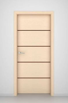 Add a little contrast to your room with our Bleached Oak Spindrift interior door. This design features horizontally laid veneer interspersed with bold contrasting stripes from top to bottom. The result? A bold, contemporary statement any way you look at it. Walnut doors by 27 estore #27estore #doors  #interiors Walnut Doors, Oak Doors, Wooden Doors, Home Renovation, Home Remodeling, Oak Interior Doors, Classic Doors, Modern Door, Office Set
