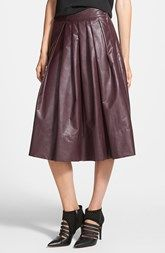 Leith 'Town' Pleated Skirt