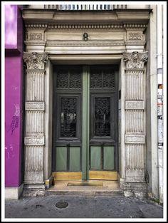 Door in Paris by Jarri Mimram~